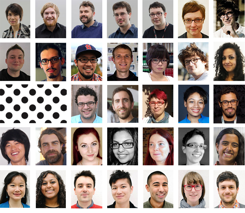 All 33 Knight-Mozilla fellows